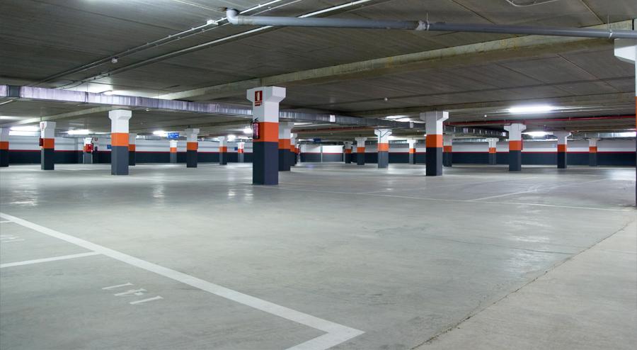 哈尔滨市十九街区地下停车场